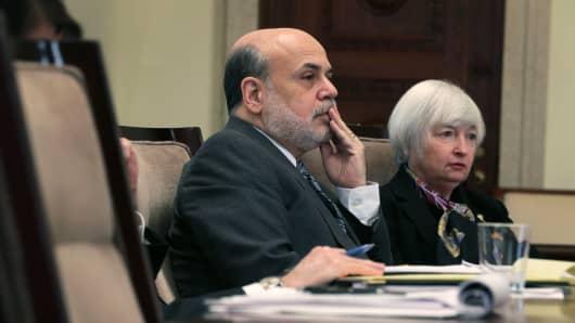 Ben Bernanke and Janet Yellen